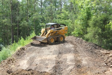 Top soil loading and delivery